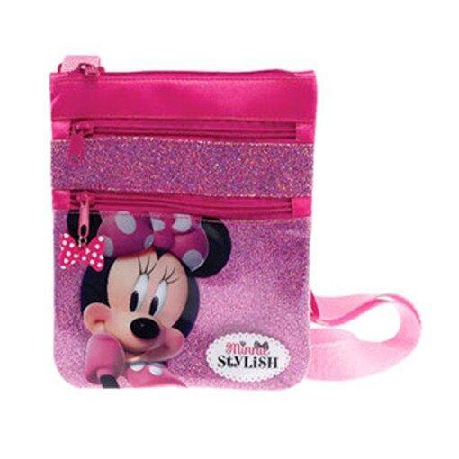 Disney Minnie Square Sling Bag - Pink Colour