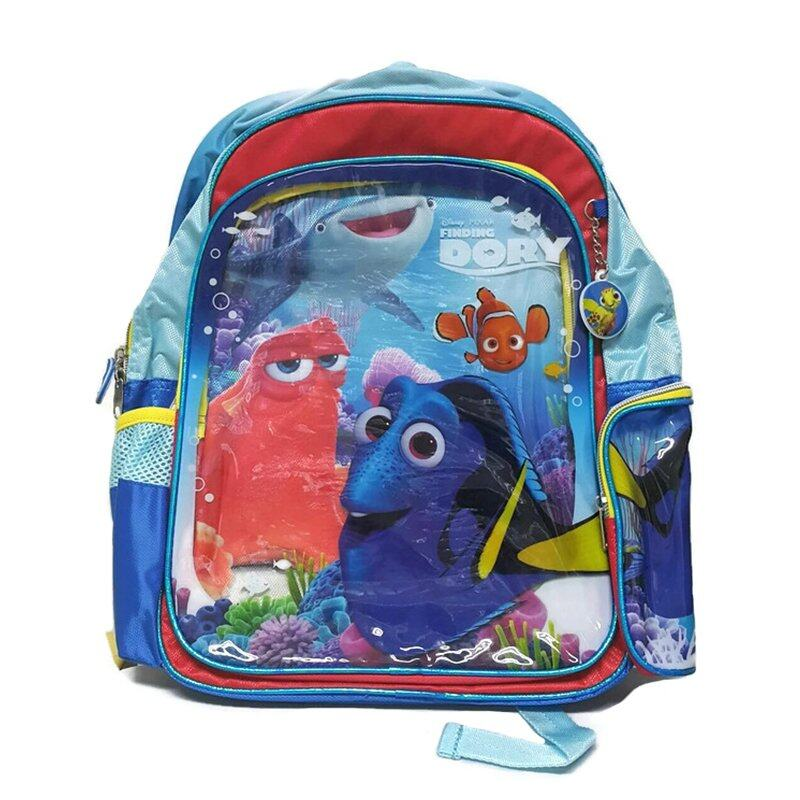 Disney Pixar Finding Dory School Bag - Blue And Red Colour