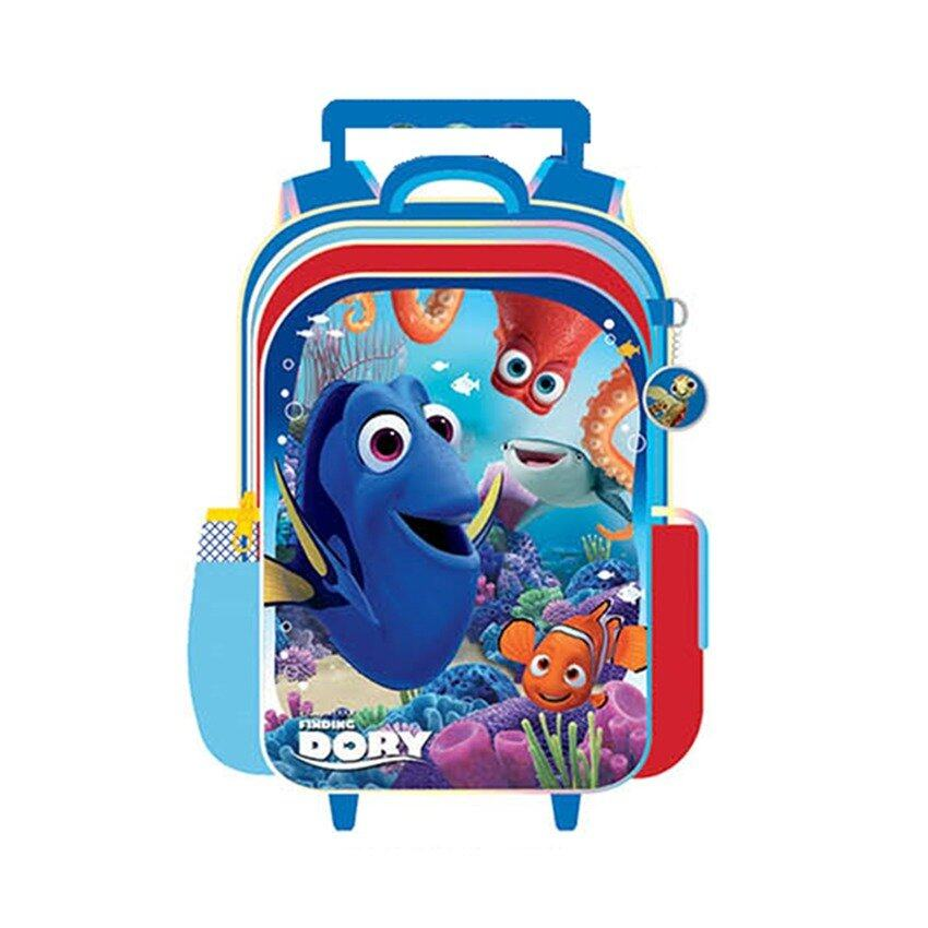 Disney Pixar Finding Dory School Trolley Bag - Blue Colour