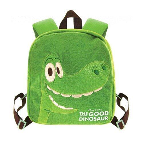 Disney Pixar The Good Dinosaur Plush Backpack 10 Inches - Green Colour