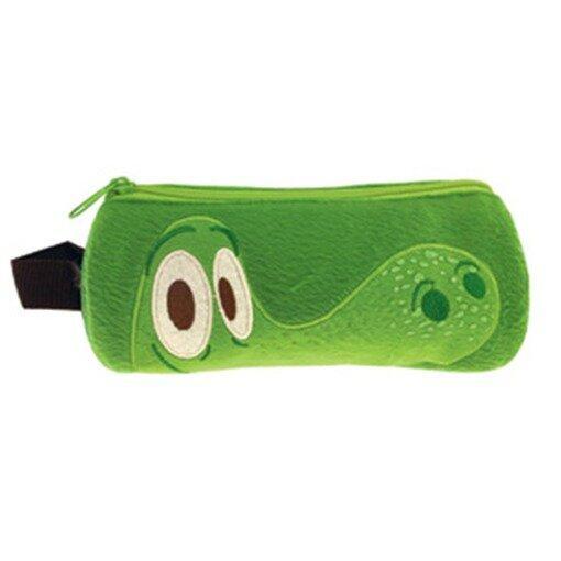 Disney Pixar The Good Dinosaur Round Pencil Bag - Green Colour