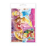 Disney Princess Colouring Book Set - Short