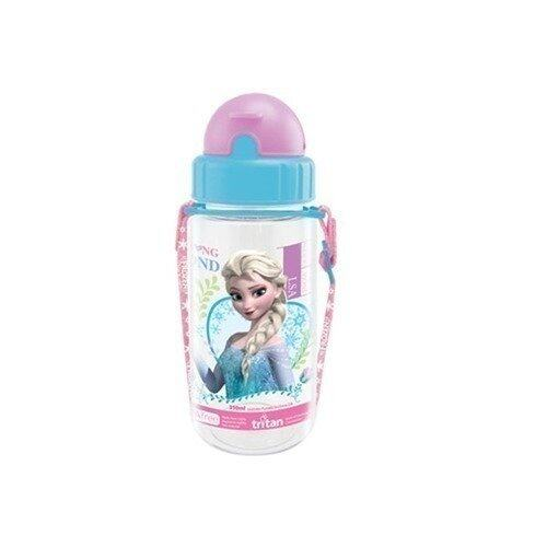 Disney Princess Frozen 350ML Tritan Bottle - Blue And Purple Colour