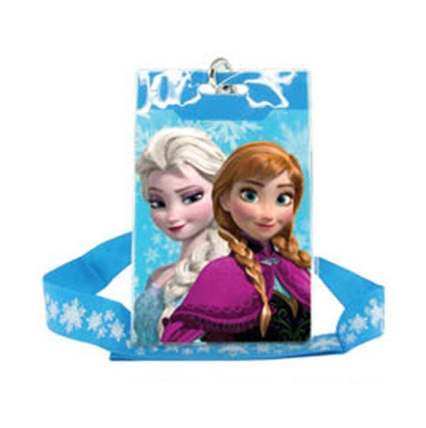 Disney Princess Frozen Card Holder - Blue Colour