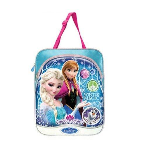 Disney Princess Frozen Tote Bag - Blue And Pink Colour