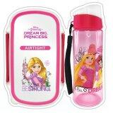 Disney Princess Rapunzel Lunch Box Bottle Set - Pink