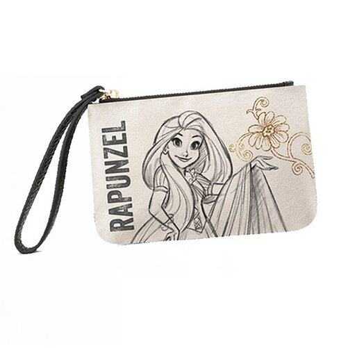Disney Princess Rapunzel Adult Wristlet Pouch - White Colour