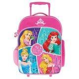 Disney Princess School Trolley Bag - Pink Colour