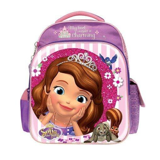 Disney Princess Sofia Pre School Bag - Purple Colour