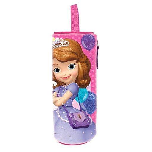 Disney Princess Sofia Round Pencil Bag - Pink Colour