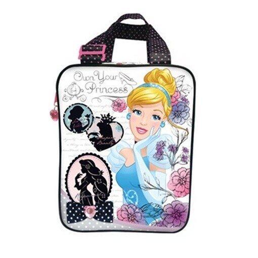 Disney Princess Tote Bag - Blue And Black Colour