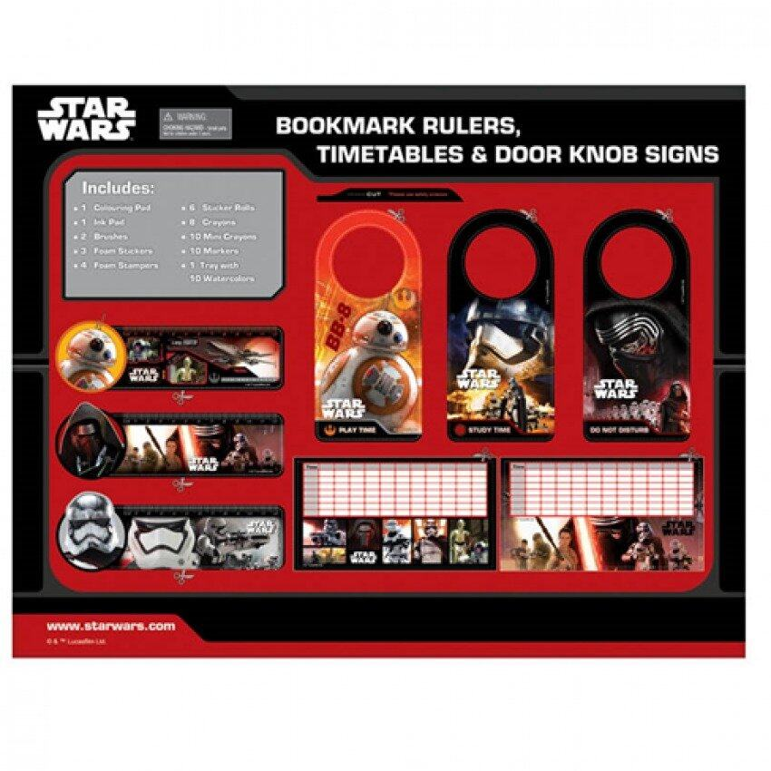 Disney Star Wars 1000pcs Art Set - Black And Red Colour