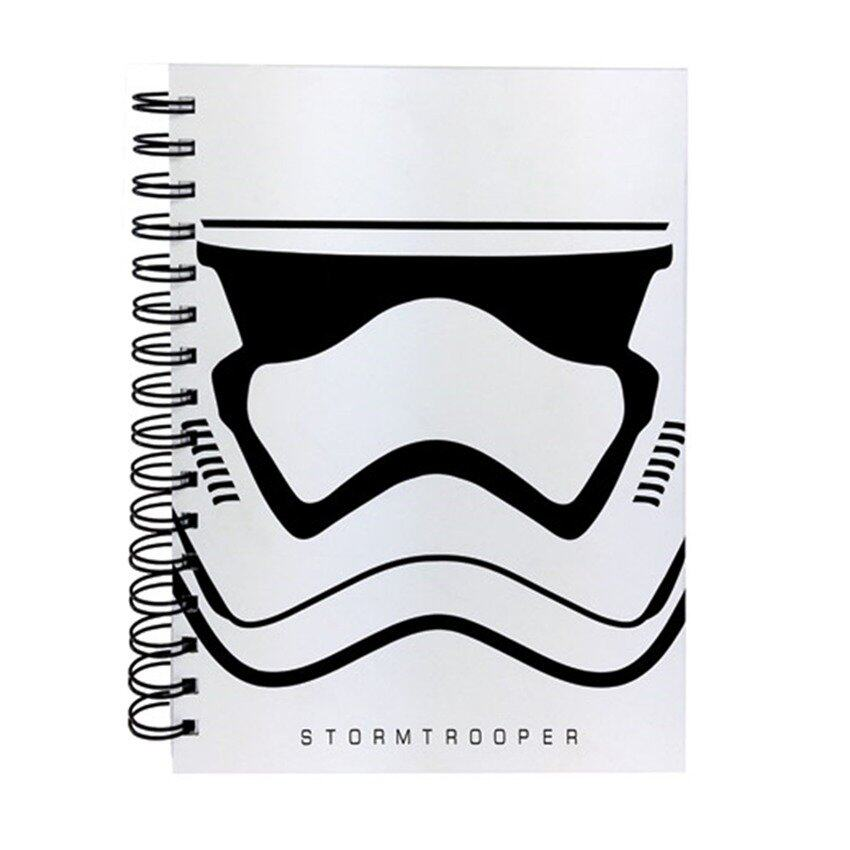 Disney Star Wars A5 100's Hard Cover Notebook - Stromtrooper