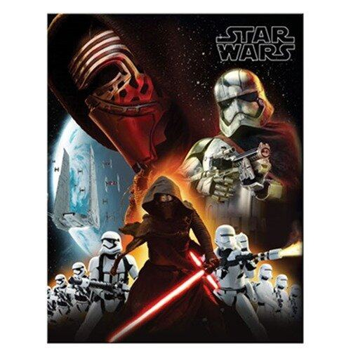 Disney Star Wars Exercise Book Set - Black And Orange Colour