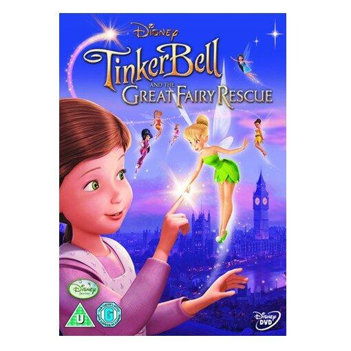 Disney Tinkerbell And The Great Fairy Rescue - DVD
