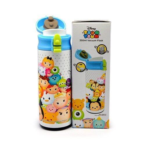 Disney Tsum Tsum 350ML Smart Lid Vacuum Flask - Blue Colour