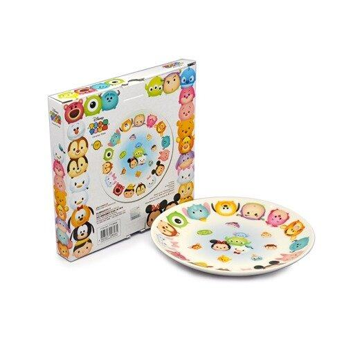 Disney Tsum Tsum Ceramic Plate 7.5 Inches - White Colour