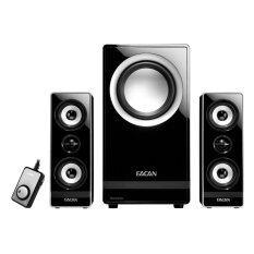 Eacan A-600IIG 2.1 Multimedia Speaker Black