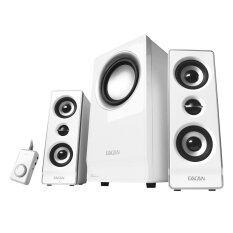 Eacan A-600IIG 2.1 Multimedia Speaker White