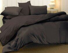 Essina Candies Brown Fitted Bed Sheet Set