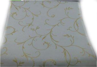 Exaplace home decor pvc self adhesive wallpaper yellow for Yellow wallpaper home decor