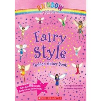 Fairy Style Fashion Sticker Book Lazada Malaysia