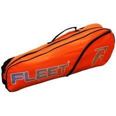 Fleet 1 Zips+ 1 Side Compartment Bag + Sling Strap FT 011 Orange