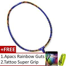 Fleet V-Tech 800 Royal Blue (Super Slim Shaft) +Free Apacs RainBow Guts + Tattoo Super Grip