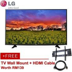 [FREE WALL MOUNT & HDMI] LG Full HD LED TV 43-inch 43LH511T w Built-in Game *SAME DAY DELIVERY