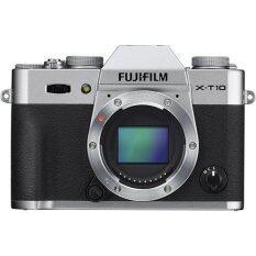 Fujifilm X-T10 Mirrorless Digital Camera (Silver) Body Only