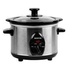 Hesstar Slow Cooker HSC-B35 3.5L Black & Silver