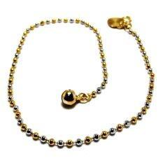 KLF Norrbotten Ladies Ankle Bracelet (Gold)