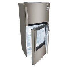 LG GCD432HLAM Fridge 2 Doors Inverter 426L