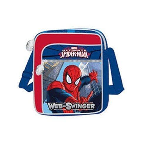 "Marvel Spiderman Sling Bag 9"" - Blue And Red Colour"