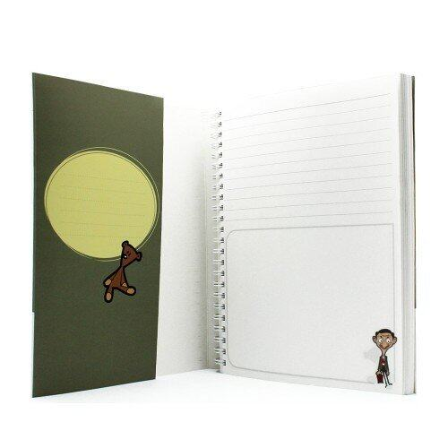Mr.Bean A5 WireO Note Book Set