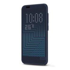 Original HTC One A9 Dot View Ice Premium Case (Navy Blue)