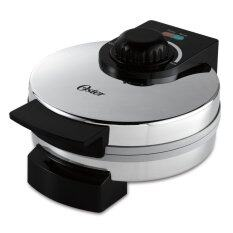 Oster CKSTWF1502-ECO DuraCeramic Belgian Waffle Maker (Silver)
