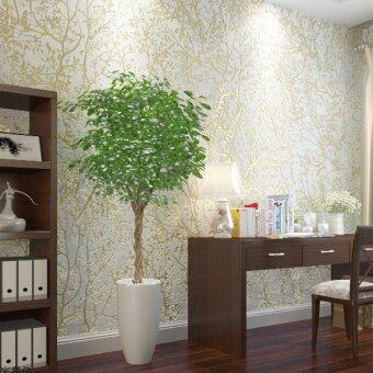 Rural forest non woven wallpaper 3d embossed wallpaper for 3d wallpaper for living room malaysia