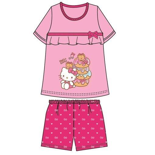 Sanrio Hello Kitty Adult Ladies Homewear 100% Cotton Free Size - Pink Colour