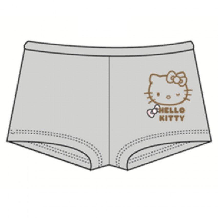 Sanrio Hello Kitty Boxers 7yrs - 12yrs - Pink And Grey Colour
