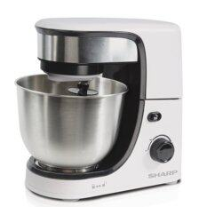 Sharp EMS80WH Stand Mixer Stainless Steel Bowl 4.0L 350W