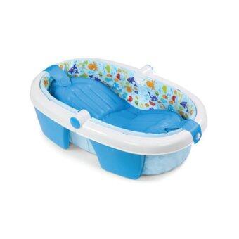summer infant fold away baby bath lazada malaysia. Black Bedroom Furniture Sets. Home Design Ideas