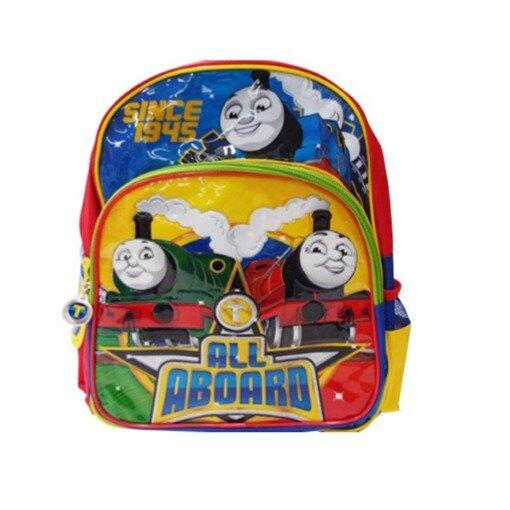 Thomas And Friends School Bag - Yellow And Blue Colour