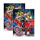Transformers Exercise Book Set - Blue Colour