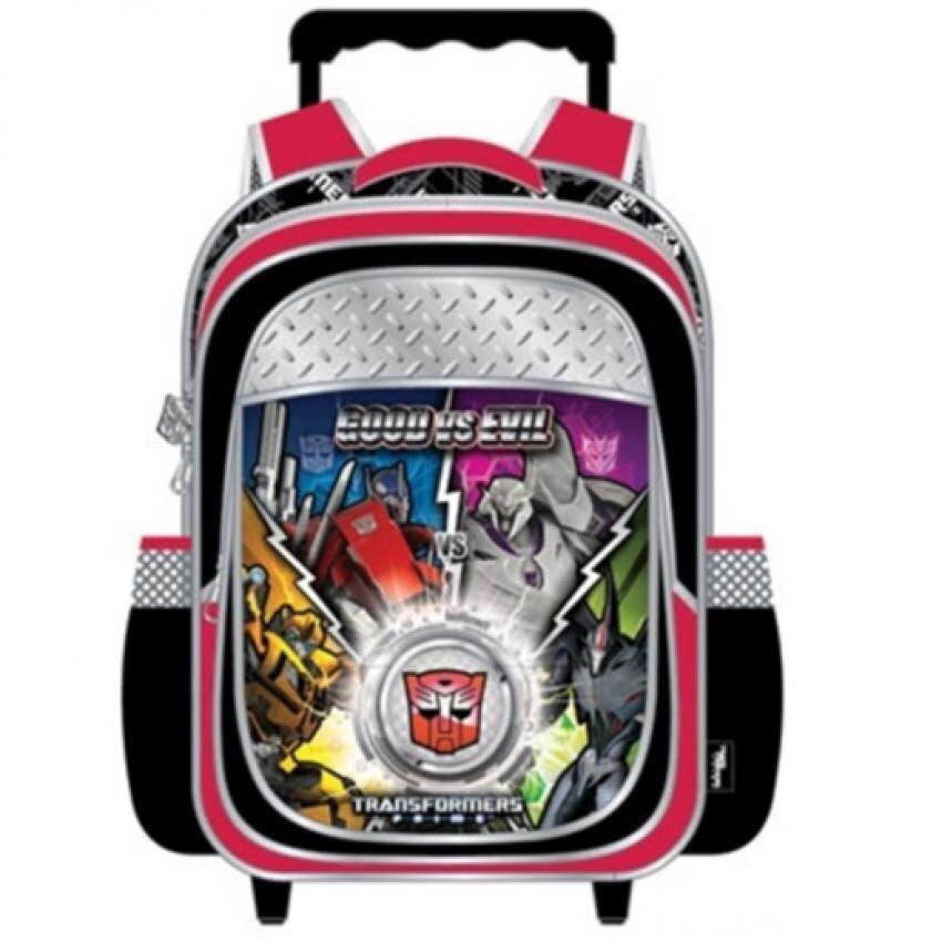 Transformers Pre School Trolley Bag - Red Colour