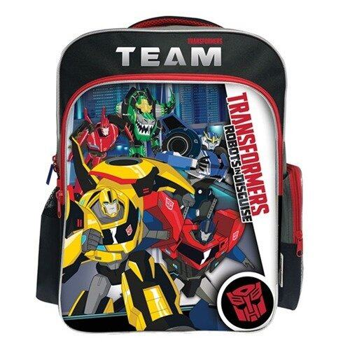 Transformers School Bag - Black Colour