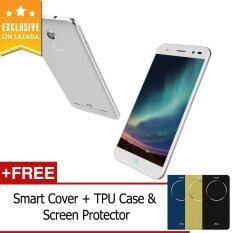 ZTE Blade V7 Lite 16GB (Silver) FREE Exclusive Smart Cover + TPU Case & Screen Protector