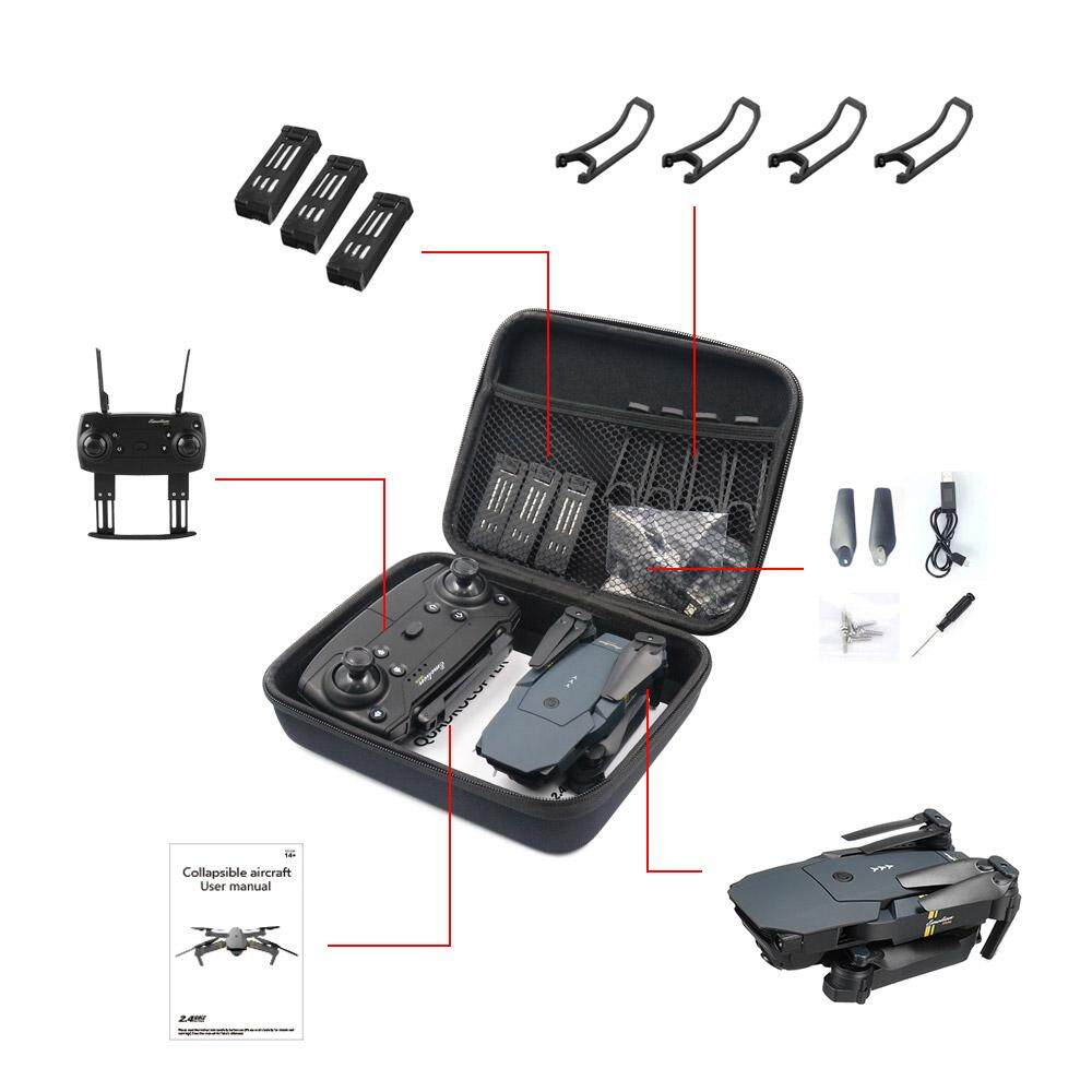Coromose E58/jy018/jy019/gw58/x6/e010/e010s/e013/e50 Foldable Arm Rc Fpv Drone Handbag Carrying Case Box Bag By Coromose.