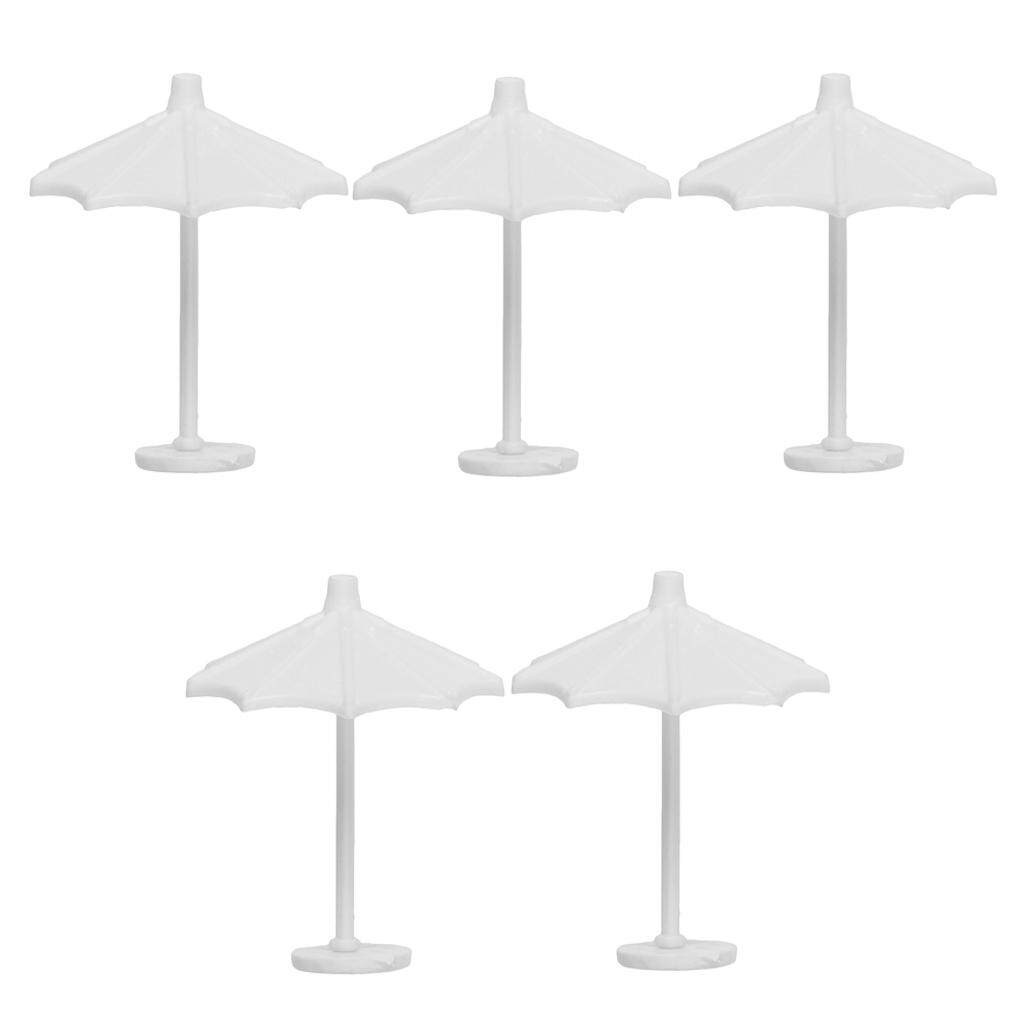 Bolehdeals 1:150/1:75 Scale Sand Table Scene Umbrella Model For Pictures.