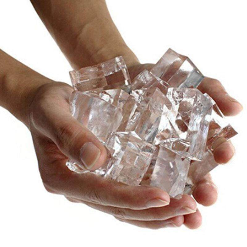 MayLer Store Magic Prop Tricks Gimmick Magician Performance Ice From Water Silicone Recycle